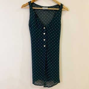 Vintage Country Road Top/Vest Small